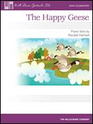 Cover icon of The Happy Geese sheet music for piano solo (elementary) by Randall Hartsell, beginner piano (elementary)