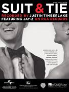 Cover icon of Suit and Tie sheet music for voice, piano or guitar by Justin Timberlake, intermediate skill level