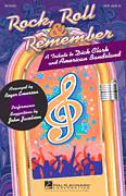 Cover icon of Rock, Roll and Remember: A Tribute To Dick Clark and American Bandstand (Medley) sheet music for choir (2-Part) by Glee Cast and Roger Emerson, intermediate duet