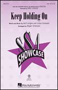 Cover icon of Keep Holding On sheet music for choir (soprano voice, alto voice, choir) by Roger Emerson, intermediate choir (soprano voice, alto voice, choir)