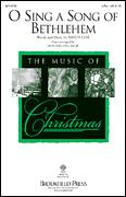 Cover icon of O Sing A Song Of Bethlehem sheet music for choir (duets) by Randy Cox, Christmas carol score, intermediate duet