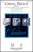 Cover icon of Carols, Rejoice (Medley) sheet music for choir (SATB) by John Purifoy, intermediate