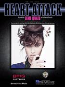 Cover icon of Heart Attack sheet music for voice, piano or guitar by Demi Lovato, Aaron Phillips, Allan Mitch, Jason Evigan, Nikki Williams and Sean Douglas, intermediate