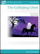 Cover icon of The Galloping Ghost sheet music for piano solo (elementary) by Glenda Austin, beginner piano (elementary)