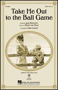 Cover icon of Take Me Out To The Ball Game sheet music for choir (SAB: soprano, alto, bass) by John Leavitt, Albert von Tilzer and Jack Norworth, intermediate skill level