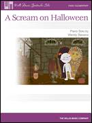 Cover icon of A Scream On Halloween sheet music for piano solo (elementary) by Wendy Stevens, beginner piano (elementary)