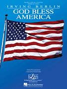 Cover icon of God Bless America sheet music for voice, piano or guitar by Irving Berlin and Celine Dion, intermediate