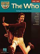 Cover icon of Won't Get Fooled Again sheet music for guitar (tablature, play-along) by The Who, intermediate