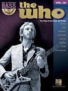 Cover icon of Behind Blue Eyes sheet music for bass (tablature) (bass guitar) by The Who, intermediate skill level