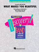 Cover icon of What Makes You Beautiful (COMPLETE) sheet music for concert band by Robert Longfield and One Direction, intermediate