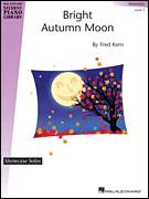 Cover icon of Bright Autumn Moon sheet music for piano solo (elementary) by Fred Kern, classical score, beginner piano (elementary)