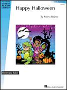 Cover icon of Happy Halloween sheet music for piano solo (elementary) by Mona Rejino, beginner piano (elementary)