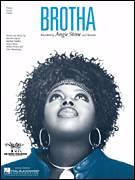 Cover icon of Brotha sheet music for voice, piano or guitar by Angie Stone, intermediate