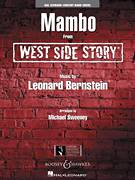 Cover icon of Mambo (from West Side Story) (COMPLETE) sheet music for concert band by Leonard Bernstein and Michael Sweeney, intermediate