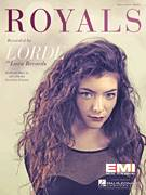 Cover icon of Royals sheet music for voice, piano or guitar by Lorde and Joel Little, intermediate