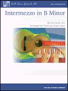 Cover icon of Intermezzo In B Minor sheet music for piano solo (elementary) by Frank Levin and Fernando Sor, classical score, beginner piano (elementary)