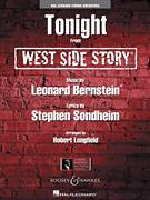 Cover icon of Tonight (from West Side Story) (COMPLETE) sheet music for orchestra by Leonard Bernstein and Robert Longfield, intermediate skill level