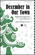 Cover icon of December In Our Town sheet music for choir (3-Part Treble) by Roger Emerson, intermediate skill level