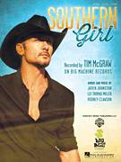 Cover icon of Southern Girl sheet music for voice, piano or guitar by Tim McGraw, intermediate skill level