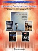 Cover icon of Say Something sheet music for piano solo by A Great Big World, easy piano
