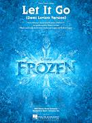 Cover icon of Let It Go (from Frozen) (Demi Lovato version) sheet music for voice, piano or guitar by Demi Lovato, intermediate