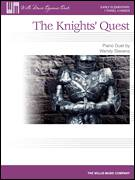 Cover icon of The Knights' Quest sheet music for piano four hands by Wendy Stevens, classical score, intermediate