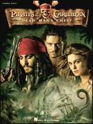 Cover icon of Davy Jones sheet music for piano solo by Hans Zimmer, intermediate skill level