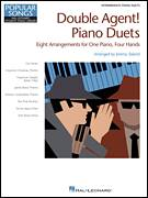 Cover icon of Secret Agent Man sheet music for piano four hands by Jeremy Siskind, Johnny Rivers and Steve Barri, intermediate