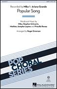 Cover icon of Popular Song sheet music for choir (SATB: soprano, alto, tenor, bass) by Roger Emerson, Ariana Grande, Mathieu Jomphe-Lepine, Mika, Priscilla Renea and Stephen Schwartz, intermediate
