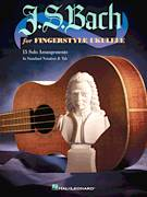 Cover icon of Bourree sheet music for ukulele by Johann Sebastian Bach, classical score, intermediate