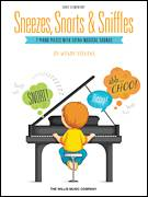 Cover icon of The Sniffles sheet music for piano solo (elementary) by Wendy Stevens, beginner piano (elementary)