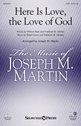 Cover icon of The Love Of God sheet music for choir (SATB: soprano, alto, tenor, bass) by Joseph M. Martin, Frederick M. Lehman, Robert Lowry and William Rees, intermediate