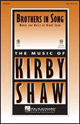 Cover icon of Brothers In Song sheet music for choir (TBB: tenor, bass) by Kirby Shaw, intermediate
