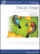 Cover icon of Toucan Tango sheet music for piano four hands by Glenda Austin, intermediate skill level