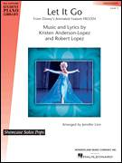 Cover icon of Let It Go (from Frozen) sheet music for piano solo (elementary) by Robert Lopez, Demi Lovato, Idina Menzel, Jennifer Linn and Kristen Anderson-Lopez, beginner piano (elementary)