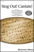 Cover icon of Sing Out! Cantate! sheet music for choir (2-Part) by Antonio Vivaldi and Patrick Liebergen, classical score, intermediate duet