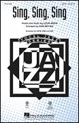 Cover icon of Sing, Sing, Sing sheet music for choir (SATB: soprano, alto, tenor, bass) by Mark Brymer, Benny Goodman and Louis Prima, intermediate