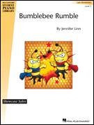 Cover icon of Bumblebee Rumble sheet music for piano solo (elementary) by Jennifer Linn, beginner piano (elementary)