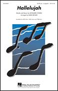 Cover icon of Hallelujah sheet music for choir (SATB: soprano, alto, tenor, bass) by Leonard Cohen, Mark Brymer and Lee DeWyze, intermediate