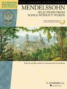 Cover icon of Song Without Words In A Minor, Op. 85, No. 2 sheet music for piano solo by Felix Mendelssohn-Bartholdy and Immanuela Gruenberg, classical score, intermediate skill level