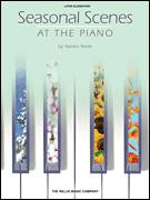 Cover icon of Velvet Winter sheet music for piano solo (elementary) by Naoko Ikeda