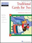 Cover icon of Ukrainian Bell Carol sheet music for piano four hands by Carol Klose, intermediate skill level
