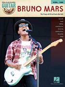 Cover icon of Treasure sheet music for guitar (tablature, play-along) by Bruno Mars, Ari Levine and Philip Lawrence, intermediate