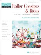 Cover icon of At The Top Of The Ferris Wheel sheet music for piano four hands by Jennifer Watts and Mike Watts, intermediate
