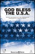 Cover icon of God Bless The U.S.A. sheet music for choir (SATB: soprano, alto, tenor, bass) by David Schmidt, American Idol Finalists and Lee Greenwood, intermediate skill level