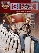 Cover icon of Duck And Run sheet music for guitar (tablature, play-along) by 3 Doors Down, intermediate
