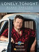 Cover icon of Lonely Tonight sheet music for voice, piano or guitar by Blake Shelton feat. Ashley Monroe, Blake Shelton, Brent Anderson and Ryan Hurd, intermediate skill level
