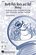 Cover icon of North Pole Rock And Roll (Medley) sheet music for choir (SATB: soprano, alto, tenor, bass) by Glen Ballard, Mac Huff, Steven Tyler and Alan Silvestri, intermediate
