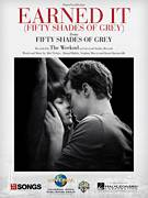 Cover icon of Earned It (Fifty Shades Of Grey) sheet music for voice, piano or guitar by The Weeknd, Abel Tesfaye, Ahmad Balshe, Jason Quenneville and Stephan Moccio, intermediate skill level