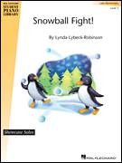 Cover icon of Snowball Fight! sheet music for piano solo (elementary) by Lynda Lybeck-Robinson, beginner piano (elementary)